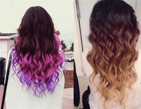 hair color ideas  black women bleached hair dip dyed
