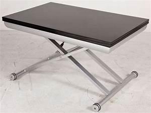 Escalier Ajustable En Hauteur : table basse hauteur reglable maison design ~ Premium-room.com Idées de Décoration