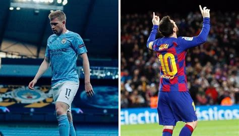 De Bruyne labels Messi the GOAT, insists his transfer ...