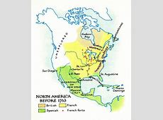 America Map 1763 Fort Quebec North 10