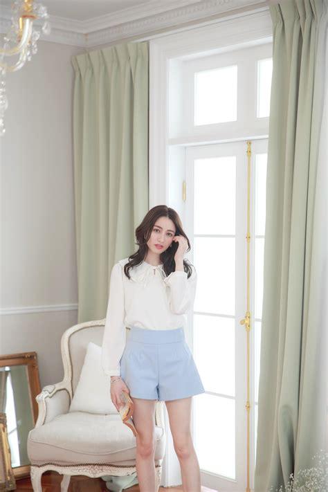 yoco womens collar blouse with bow tie korean fashion ebay