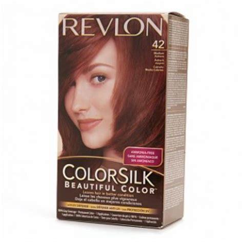revlon colorsilk hair color revlon colorsilk hair color dye medium auburn 42 hair
