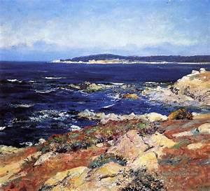 Tableaux Mer Et Plage : plage et mer bleue profonde peinture tableau en vente ~ Teatrodelosmanantiales.com Idées de Décoration