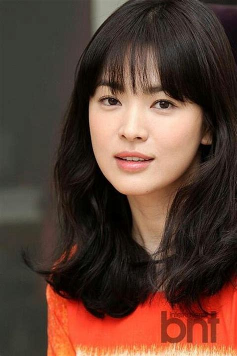 Song Hye Kyo Hairstyle by Song Hye Kyo Song Hye Kyo The O Jays Song