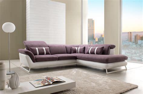 canap 233 d angle design en cuir et tissu mod 232 le oblo magasin de meubles plan de cagne cuir