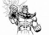 Thanos Coloring Printable Coloriage Colorear Marvel Fortnite Dibujos Avengers Sheet Imprimer Gant Kolorowanki Superheroes Coloriages Pdf Titan Enfants Dzieci Dla sketch template