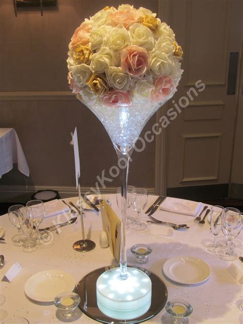 Wedding Table Centrepieces Manchester And The Northwest