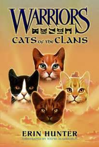 warrior cat books warriors cats of the clans by erin illustrated