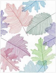 Transparent Line Art Leaves · Art Projects for Kids
