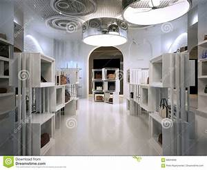 Luxury store interior design art deco style with hints of for Art deco interior shop