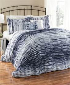 navy white tie dye comforter set modern comforters and comforter sets by zulily