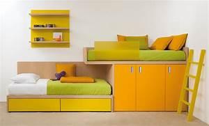 Moderne Betten Mit Led : halbhohe kinderbetten und betten mit stauraum ~ Bigdaddyawards.com Haus und Dekorationen