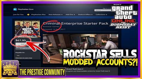 criminal starter pack enterprise rockstar selling activity