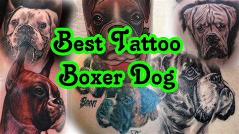 Boxer Tattoos  Images For Tatouage