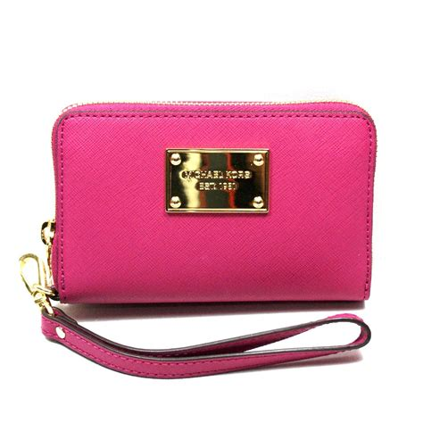 iphone wristlet michael kors electronics saffiano peony wristlet iphone