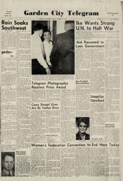 garden city telegram newspaper archives oct 18 1960