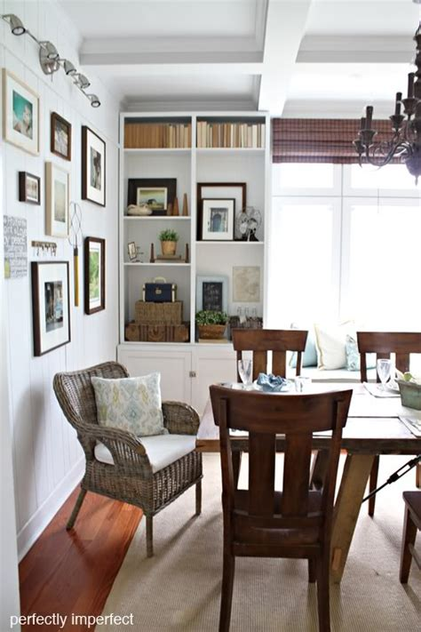 Bookcase In Dining Room by So I This Thing Perfectly Imperfect