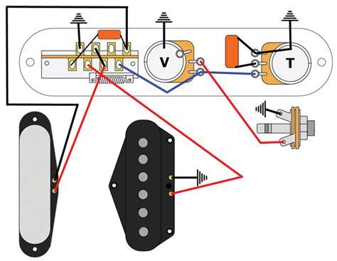 mod garage  bill lawrence   telecaster circuit
