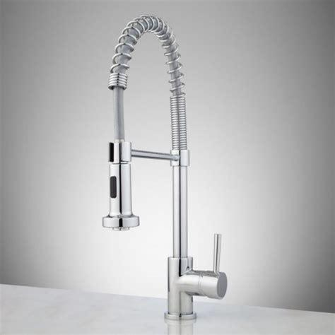water ridge brushed nickel pullout kitchen faucet 71uh02rblrl sl1227 faucet waterridge brushed nickel finish
