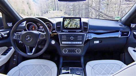 mercedes gls interior 2016 mercedes gls class interiors youtube