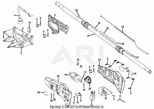 Homelite 31254eg Electric Pole Saw Parts Diagram For