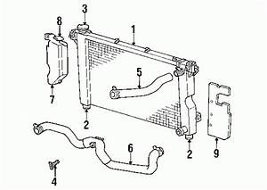 1999 Plymouth Voyager Cooling System Diagram