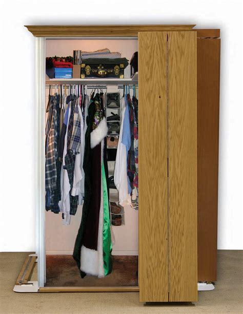 hiding doors add walk in closet in small room door is