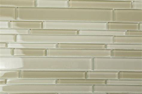 quot dreamy blend quot staggered linear glass subway tile for