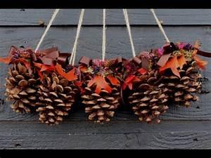 DIY Christmas Decoration Ideas 2017 Recycling pine cones