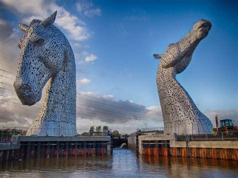 The Kelpies Scotland's 100 Ft Horsehead Sculptures