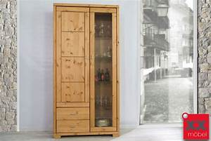 Vitrine Kiefer Gelaugt Gelt Stunning Affordable Regal Mit
