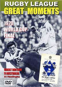 1970 WORLD CUP FINAL - GREAT BRITAIN v AUSTRALIA