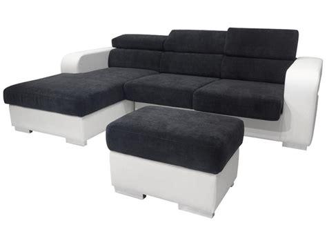 photos canapé conforama noir et blanc