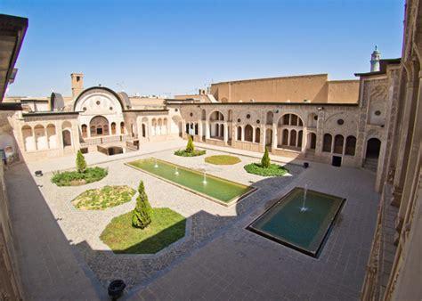 Innenhof Römischer Häuser by Kaschan Iran Haeuser 02 Alltheplaces Net