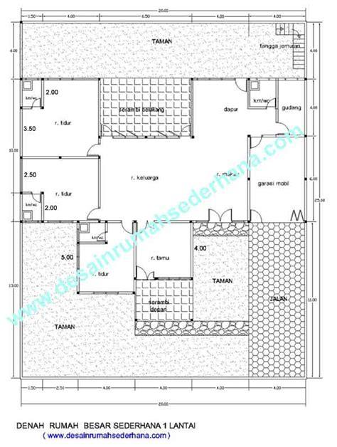 desain rumah kost  lantai sederhana khusus android