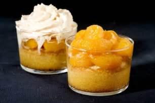 dessert avec des clementines verrine d amande compot 233 e de cl 233 mentines et 233 mulsion chagne recette de verrine d amande