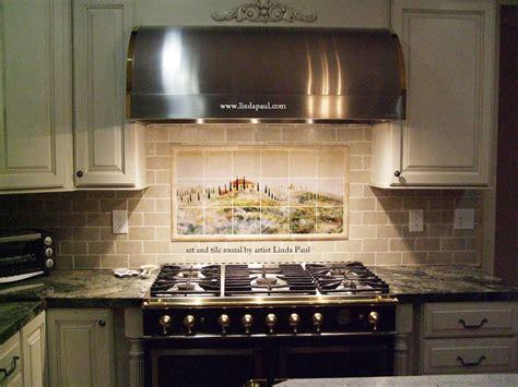 Backsplash Tile In Kitchen : Kitchen Backsplash Tile Murals By Linda Paul Studio By