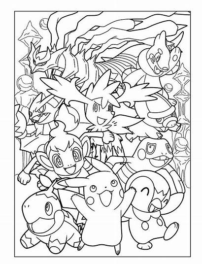 Pokemon Legendary Coloring Pages Printable Getdrawings