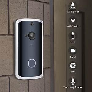 Sno Smart Video Doorbell Wireless Doorbell Camera Wifi