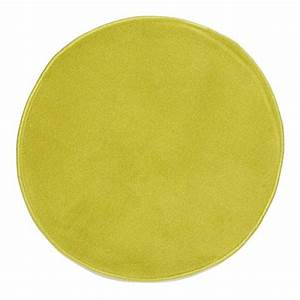 pablo tapis rond dia 120 anis bcf With tapis rond 120