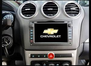 Central Multimidia Aikon Chevrolet Captiva 2008  2013