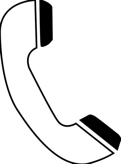 telephone clipart black and white cell phone clip black and white clipart panda free