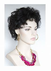 Short Curly Wig Human Hair   HairTurners  Curly