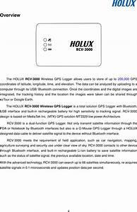 Holux Technology Rcv3000 Wireless Gps Logger Rcv