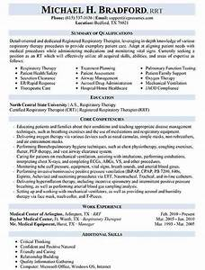 resume samples types of resume formats examples templates With free respiratory therapist resume templates