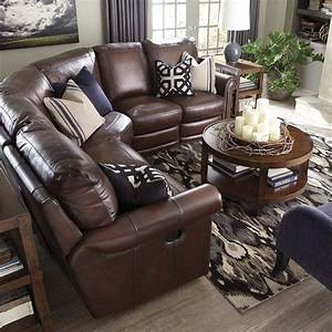 Hamilton reclining sectional sofa by bassett reclining for Bassett reclining sectional sofa