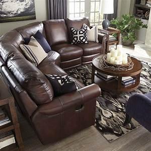 Hamilton reclining sectional sofa by bassett reclining for Sectional sofas hamilton