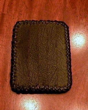 handmade custom leather credit card holder  rics leather