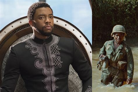 black panther chadwick boseman set  star  spike lee