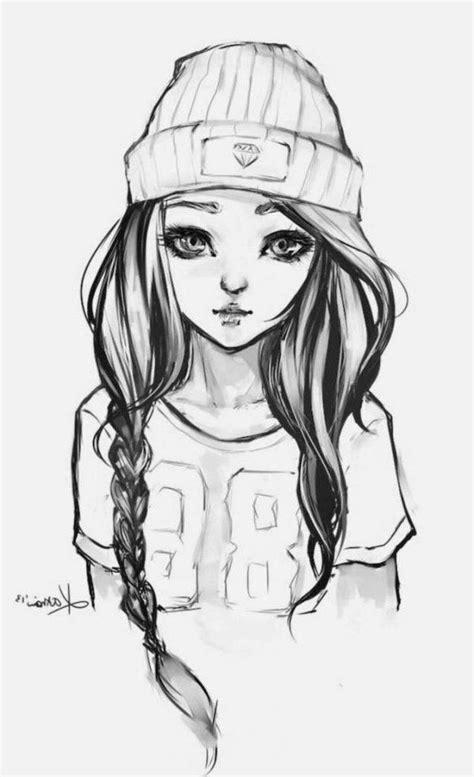 Wie man ein Mädchen zeichnet - Easy Girl Drawing Sketches